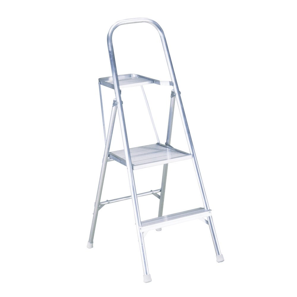 Werner 264 200-Pound Duty Rating Aluminum Platform Ladder, 4-1/2-Foot