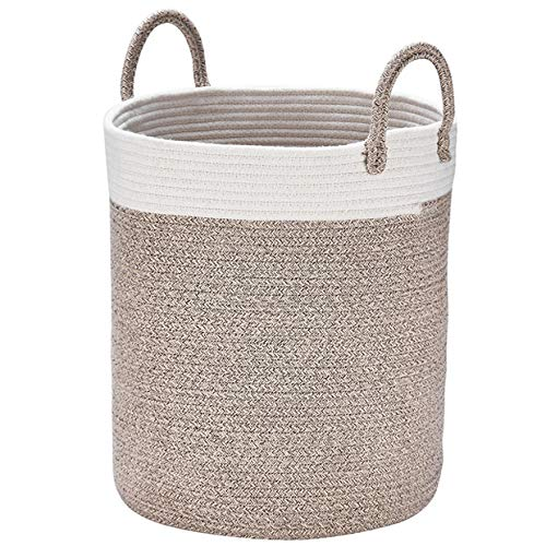 Woven Basket Rope Storage Baskets - Large Cotton Organizer 16