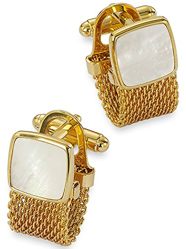 Paul Fredrick Mother Pearl Cufflinks product image