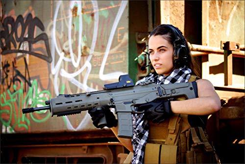 Military Assault Rifle Headphones Girls Wall Art, Pop Art, Poster, Art Prints | Rare Posters ()