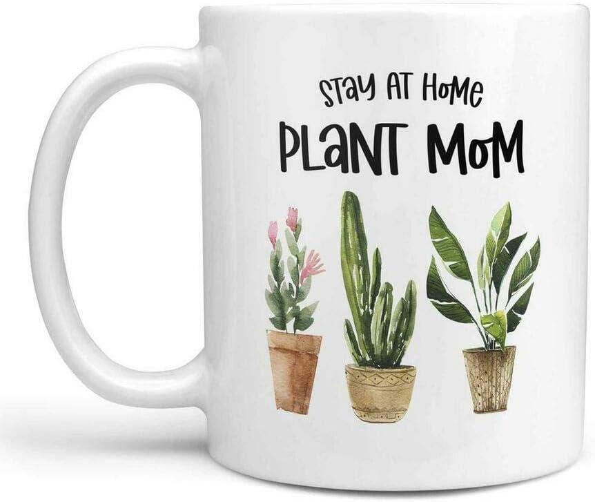 Stay At Home Plant Mom Coffee Mug Or Coffee Cup Gardening Coffee Mug Gardening