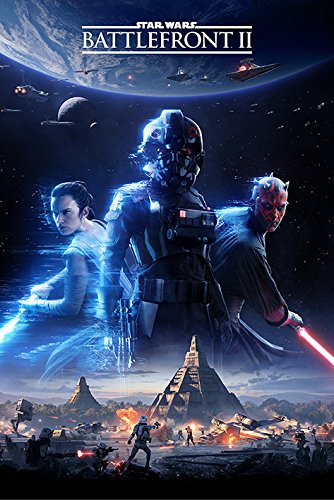 POSTER STOP ONLINE Star Wars: Battlefront II - Gaming Poster/Print (Game Cover/Key Art) (Size: 24