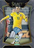 Neymar Jr. soccer card (Brazil, Barcelona, EUFA) 2015 Select Chrome #22