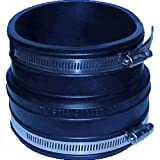 Fernco P1060-150 1-1/2-Inch by 1-1/2-Inch Rubber Flexible Socket Coupling Repair Fit