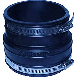 how to change a rubber coupling in toilet