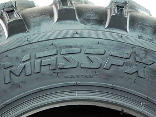 One Pair of MassFx P377 ATV/UTV Front Tires 25x8-12 Front Set of 2 25x8x12 by MASSFX (Image #2)