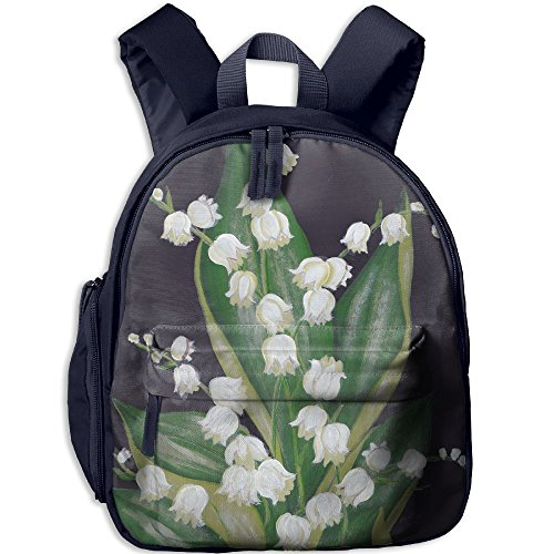 Flores Convallariae Children Unique Book Backpack For Students