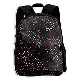 Stars Aligned Kid Boys Girls Toddler Pre School Backpack Bags Lightweight