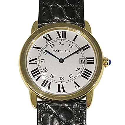 finest selection d3bde 72698 Amazon.co.jp: Cartier(カルティエ) ロンド ソロ W6700455 ...