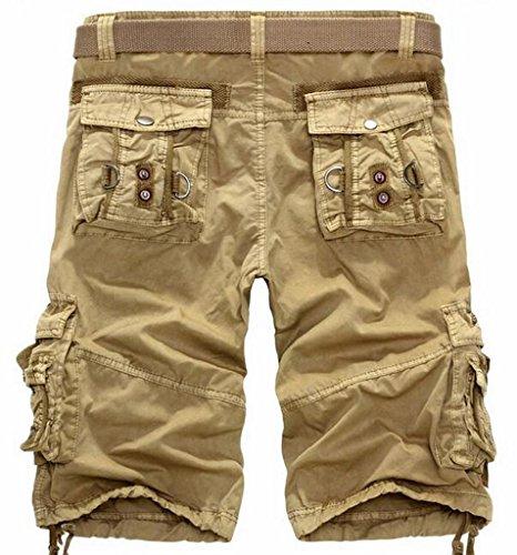 NQ Mens Cargo Shorts Cotton Outdoor Wear Lightweight No Belt high ...