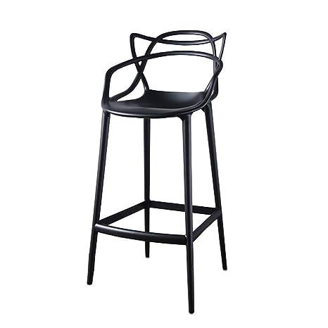 MXXYZ Silla Plegable para el hogar Taburete de Bar Café ...