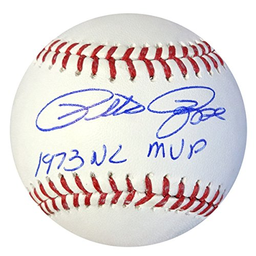 (PETE ROSE AUTOGRAPHED OFFICIAL MLB BASEBALL CINCINNATI REDS
