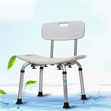 Vasca Idromassaggio Con Sedile.Sgabello Da Bagno Antiscivolo In Lega Di Alluminio Sedile Per Sedia