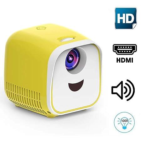 TLgf Proyector 1080P HD Mini proyector de Home Hijos Sonido ...