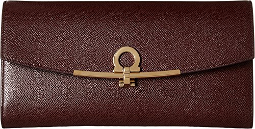 Salvatore Ferragamo Women's 22C941 Deep Bordeaux One Size by Salvatore Ferragamo