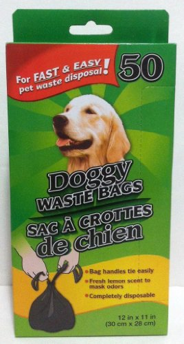 Doggy Waste Bags (Pack of 4)
