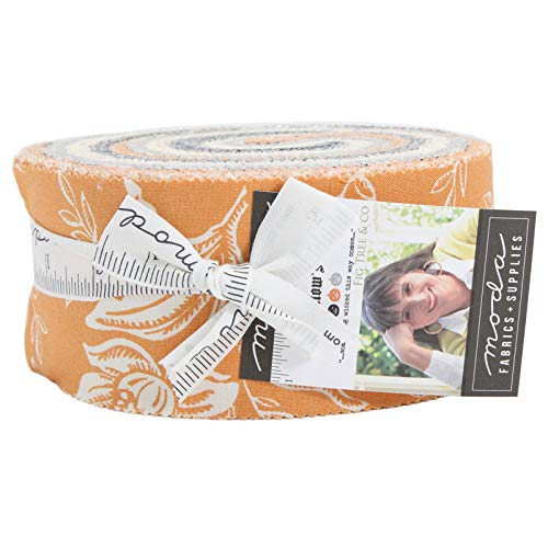 - All Hallows Eve Jelly Roll 40 2.5-inch Strips by Fig Tree Quilts for Moda Fabrics 20350JR