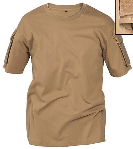 59f03cf259e2 Amazon.com: Miltec Coyote Tactical T-Shirt: Clothing