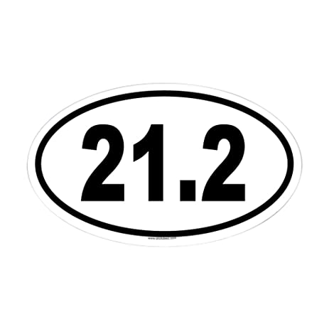 Cafepress 21 2 oval sticker oval bumper sticker euro oval car decal