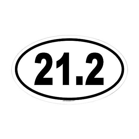 Cafepress 21 2 oval sticker oval bumper sticker euro oval car decal