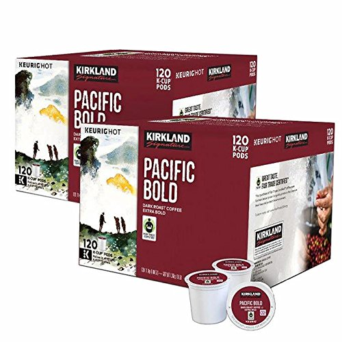 Kirkland Pacific Bold K-Cups (240 Count) by Kirkland Signature
