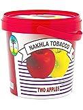 1kg. Nakhla Shisha Molasses - Non Tobacco Two Apple Flavour Hookah Water Pipe by TheMeShoppe