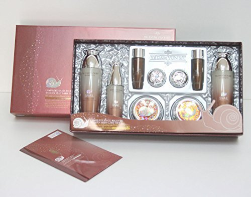 [YEDAM YUN BIT]  Complete Snail Recover 5pc Gift Set moisturizing,wrinkle / Korean Cosmetics