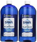 Dawn Platinum Erasing Dish Foam, Refill, Fresh Rapids Scent, 30.9 Fluid Ounce (2)