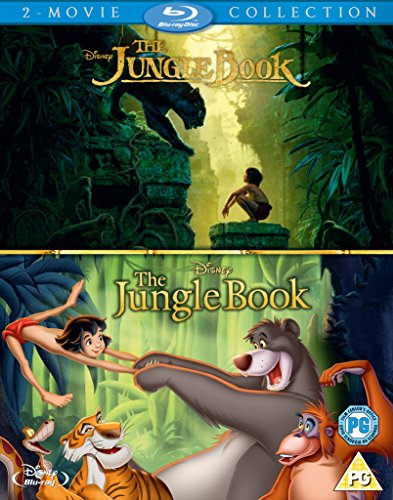 The Jungle Book Live Action and Animation Box Set [Blu-ray] [Region Free]