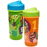 2 year old sippy cup - Zak Designs Baby Genius 8 oz. Sippy Cups, 2 piece set