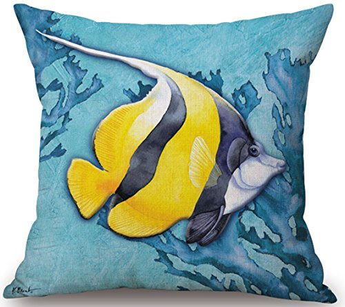 Happy Cool Cotton Linen Rurality Flowers Birds Fashion Decorative Throw Pillow Cushion Cover 18