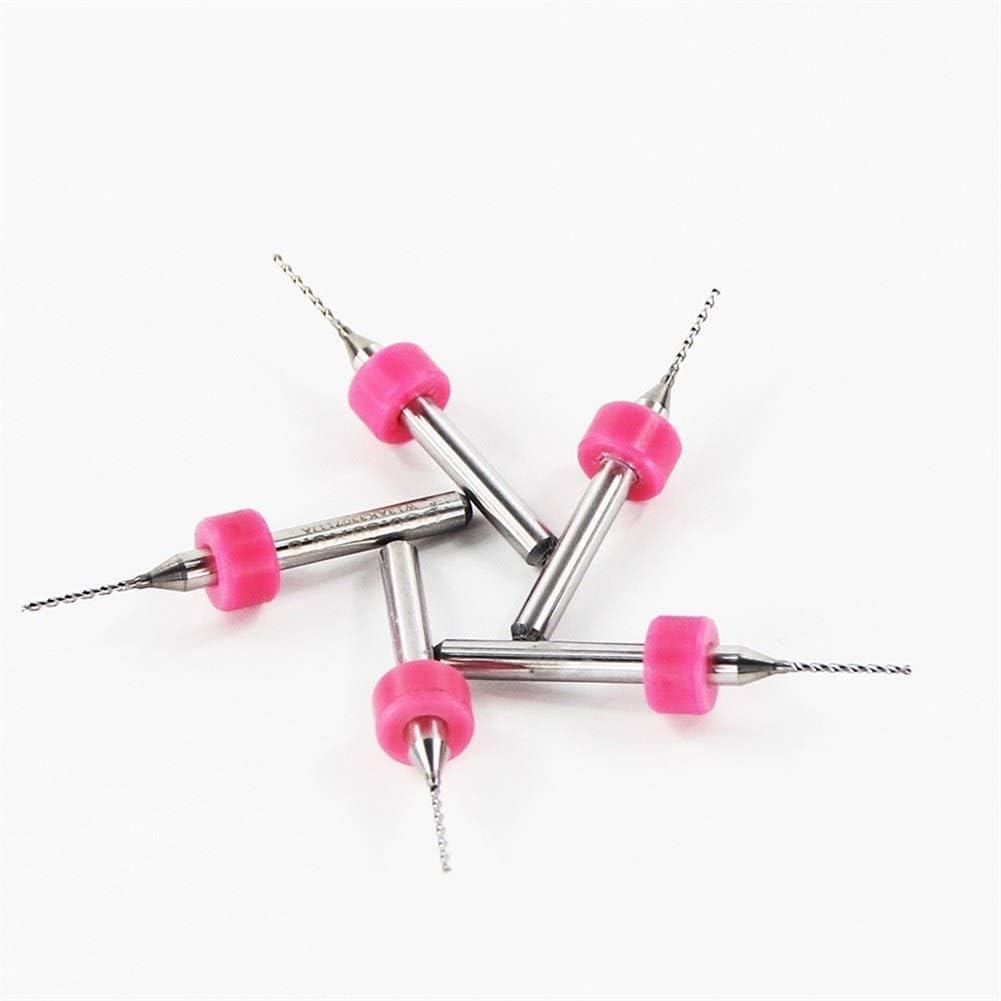 SHENYUAN 10pcs 0.8mm PCB Drill Bit CNC Machine Drill Bit for Drilling PCB Printed Circuit Board Carbide Micro Drill Bit (Color : 10Box(100pcs)) 5box(50pcs)