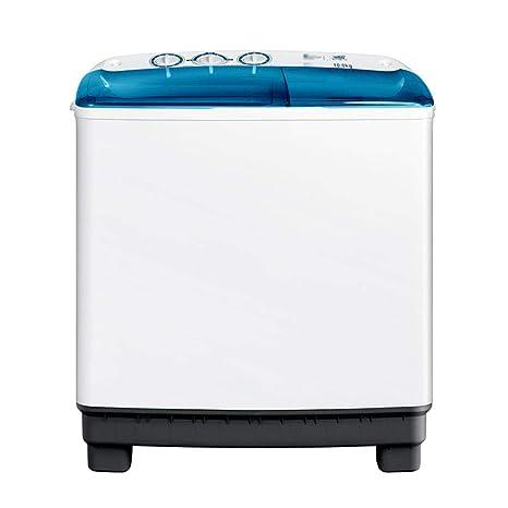 Lavadora Pequeña Semiautomática Doméstica, Doble Barril, 10 ...