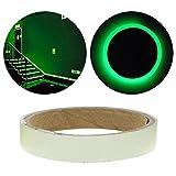 Niome Green Luminous Tape Sticker Removable, Waterproof, Photoluminescent