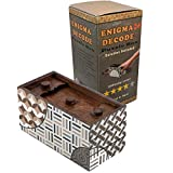 Enigma Decode Secret Puzzle Box - Money and Gift