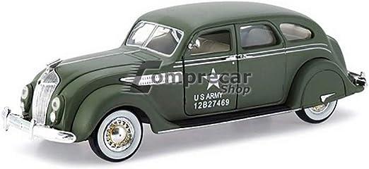 ARMY MILITARY SIGNATURE MODELS 1936 Chrysler Airflow 1//32 Die Cast Model U.S