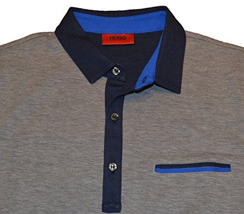 Hugo Boss Herren Poloshirt grau grau Medium