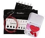 "ChiaoGoo Twist Red Lace MINI Interchangeable Knitting Needle 5"" Tip Set"