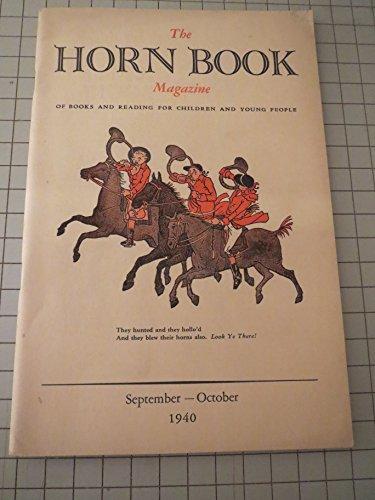 Jessamine Light - 1940 The Horn Book Magazine: Lucretia P. Hale - How Enys Tregarthen's Cornish Legends Came To Light - Jessamine's Song (Poem) - Shoes and Manuelito! - Children's Literature