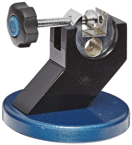 Fowler 52-247-000 Micrometer Stand with Hammertone Blue Baked Enamel Base