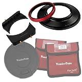 Fotodiox WPFA-CA14-System WonderPana 66 FreeArc Kit-Rotating 145mm System Holder, 6.6-Inch Filter Bracket and Lens Cap for The 14mm EF F/2.8L II USM Lens (Black)