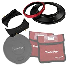 Fotodiox WPFA-CA14-System WonderPana 66 FreeArc Kit-Rotating 145mm System Holder, 6.6-Inch Filter Bracket and Lens Cap for The 14mm EF F/2.8L II USM Lens (Black)