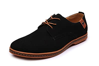 9b5f0b1dc41ed Men's and Women's 2018 Fashion Casual Genuine Mixed Leather Oxford Classic  Lace Up Urban Shoes Unisex