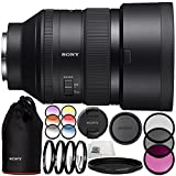Sony FE 85mm f/1.4 GM Lens 10PC Bundle - Includes 3 Piece Filter Kit (UV + CPL + FLD) + 4PC Macro Filter Set (+1,+2,+4,+10) + 6PC Graduated Filter Kit + MORE