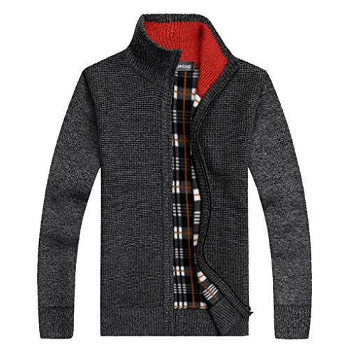Shengweiao Mens Knitted Cardigan Sweater product image