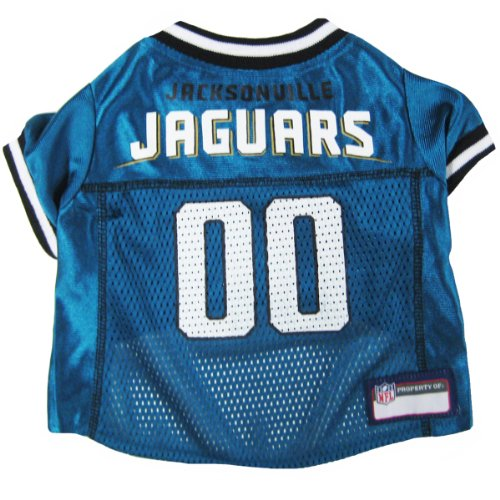 Pets First NFL Jacksonville Jaguars Pet Jersey, X-Small