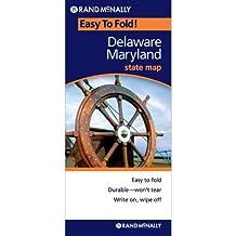 Easy Finder Map Delaware/Maryland