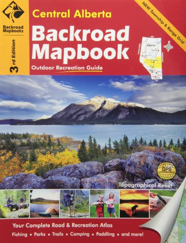 Central Alberta (Backroad Mapbooks) (Backroads Mapbook Central Alberta compare prices)