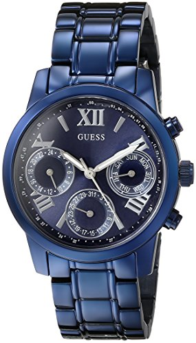 GUESS-Womens-U0448L5-Iconic-Blue-Multi-Function-Watch