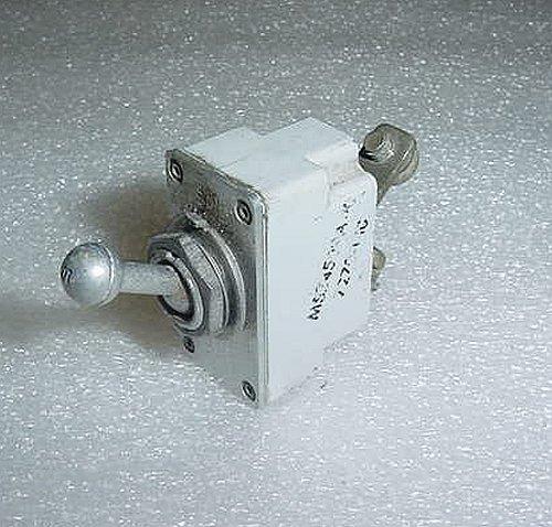 D7270-1-10, MS24509-10, Klixon 10A Toggle Circuit Breaker
